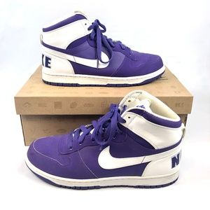 2009 Big Nike Dunk High Top Pure Purple 336608-511